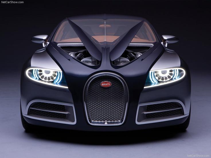 Mean-looking modern Bugatti