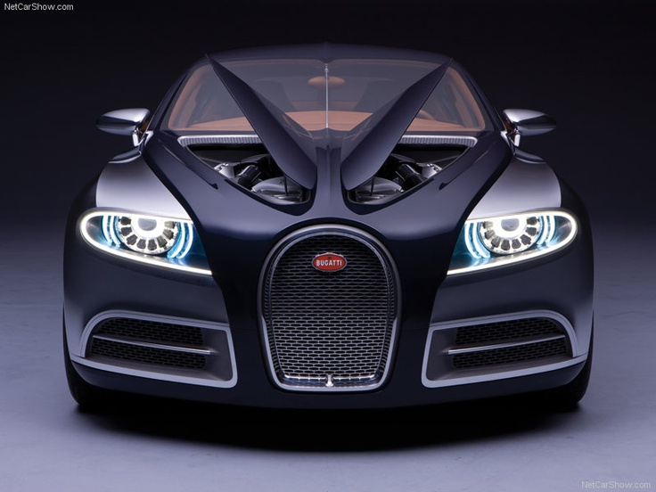 The most luxurious car in the world -   2009 Bugatti Galibier Concept