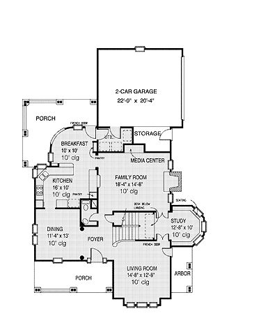 Floor plans aflfpw07911 2 story victorian home with 4 for Two story victorian house plans