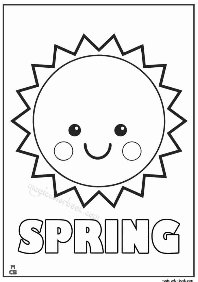 28 best Spring Coloring pages free online images on Pinterest ...
