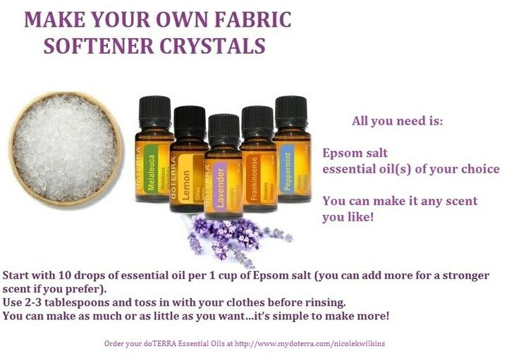 17 best images about oil uses on pinterest diffusers sinus infection and essential oil blends - How to make your own fabric softener ...
