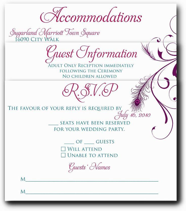 17 best Wedding Invitations images on Pinterest | Bridal ...