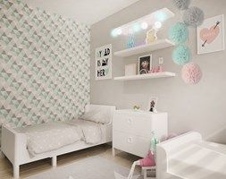 Pokój dla dwóch dziewczynek (12 m2)