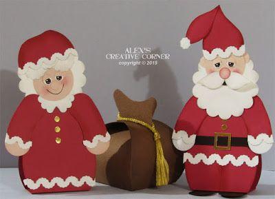 Alex's Creative Corner: Christmas in July - Santa Claus