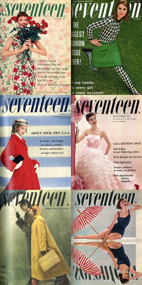 seventeen magazine covers