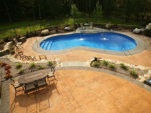 Mountain Pond Pacific Pool Gallery Inground Pools Water Feature Backyard Pool Outdoor Remodel Pool Patio