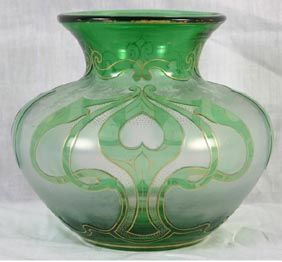 17 best images about unique vases on pinterest antique glass glass vase and glasses - Glass art by artis ...