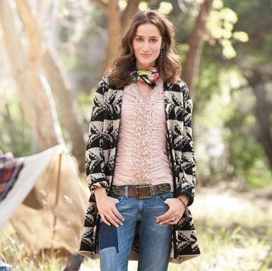 Arrowhead Sweater Coat: Dreams Style, Coats Dramatic Three Quart, Jacquard Knits, Arrowhead Sweaters, Graphics Fashion, Dresses, Boots Rocks, Sweaters Coats Dramatic, Hands Wash