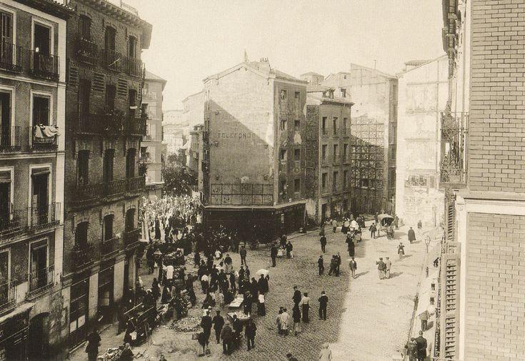 Plaza Cascorro 1912.