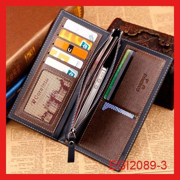 Venta al por mayor bolsos de embrague billetera de cuero con la cadena para hombre la moneda moda personalizada embalaje caja del teléfono móvil-Billeteras-Identificación del producto:60221440078-spanish.alibaba.com