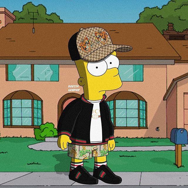 Bart Simpson Supreme Xxtenations Wallpaper - Wallpaper HD New