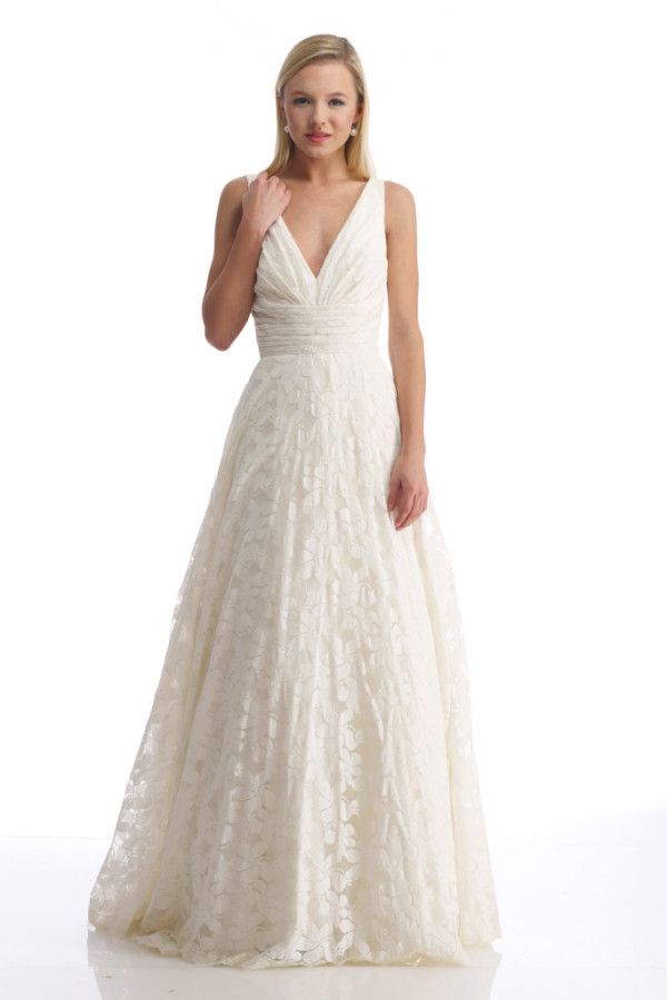 LOVE eco friendly cotton wedding dress