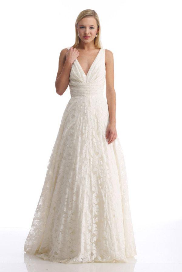 LOVE eco friendly cotton wedding dress