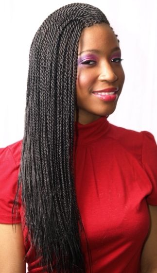 senegalese twist styles | The Senegalese Twists Styles | Best Medium Hairstyle