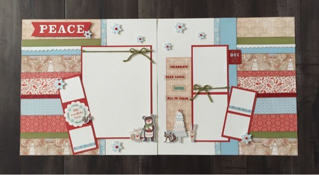 Create with Liz: White Pines Layouts #ctmhwhitepines