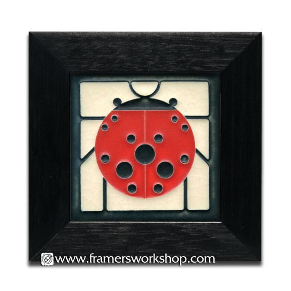 35 best framed motawi tiles images on pinterest art prints fine how about this little charley harper framed ladybug for valentines day motawi tiles at the framers workshop berkeley ca do it yourself custom solutioingenieria Choice Image