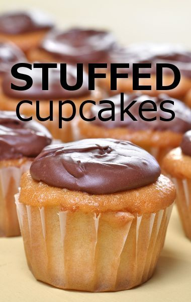 Cake Boss Buddy Valastro shared his Stuffed Cupcakes Recipe on Rachael Ray's show, complete with chocolate fudge frosting and a sweet surprise inside.