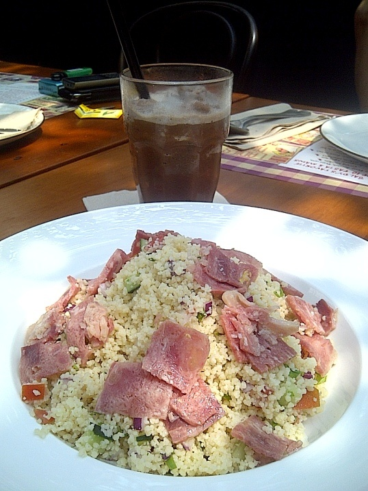 Couscous Salad at Kitchenette