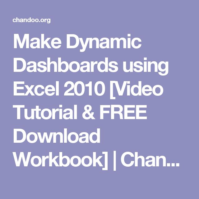 microsoft excel 2010 functions & formulas quick reference guide