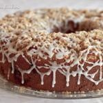 Corner Bakery Cinnamon Creme Coffee Cake Recipe | Barbara Bakes