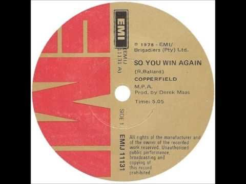 Copperfield - So you win again