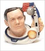 Royal Doulton large character jug/ toby mug prototype astronaut Neil Armstrong (7Kq) http://www.rubylane.com/shop/thegryphonsnest/ilist/,c=Royal_Doulton_Pottery,cs=Pottery:By+Maker:Royal+Doulton,cstyle=1.html