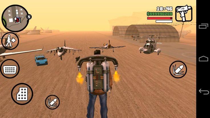 Grand Theft Auto San Andreas Android, puerto directo del original, lo que significa que todo el contenido original historia y modo de juego está presente.
