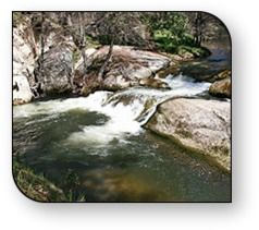 Oakhurst 17 Miles From Yosemite South Gate High Sierra RV Mobile Park Boasts Two Waterfalls Right In The Campground