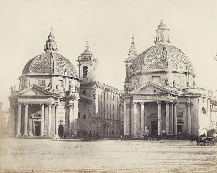 Piazza del Popolo (1868) | Roma Ieri Oggi