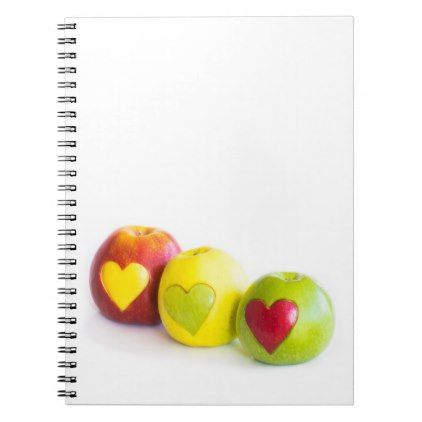 Three apples notebook  $17.60  by igorsin  - cyo diy customize personalize unique