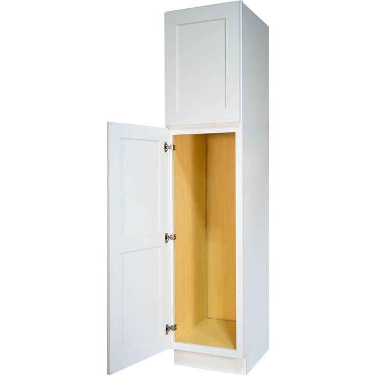 1000 images about white shaker bathroom vanities on for Bathroom cabinet 8 inches wide