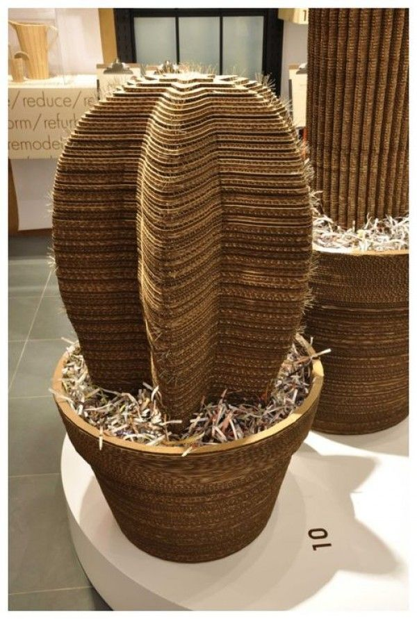 AP you should have one if these!!!! :0) Cardboard cactus scratch post.