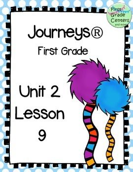 This set includes worksheets to supplement your Journeys curriculum for first grade.  This file goes with Unit 2: Lesson 9.It includes:2 phonics sheet for s blends1 phonics review sheet for blends (l, r, and s blends)1 grammar sheet (singular and plural nouns)1 text features graphic organizer (focus on photographs)1 question writing sheet1 rhyming sheet1 text-to-text connection sheet3 webs for writing with adjectives (rhino, kangaroo, template)1 poetry brainstorming sheet (alliteration)1…