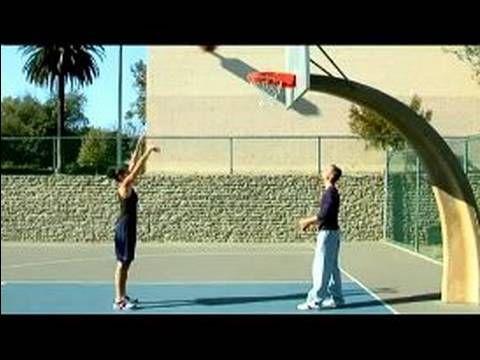 Basketball Tips for Women : Basketball Shooting Practice Tips