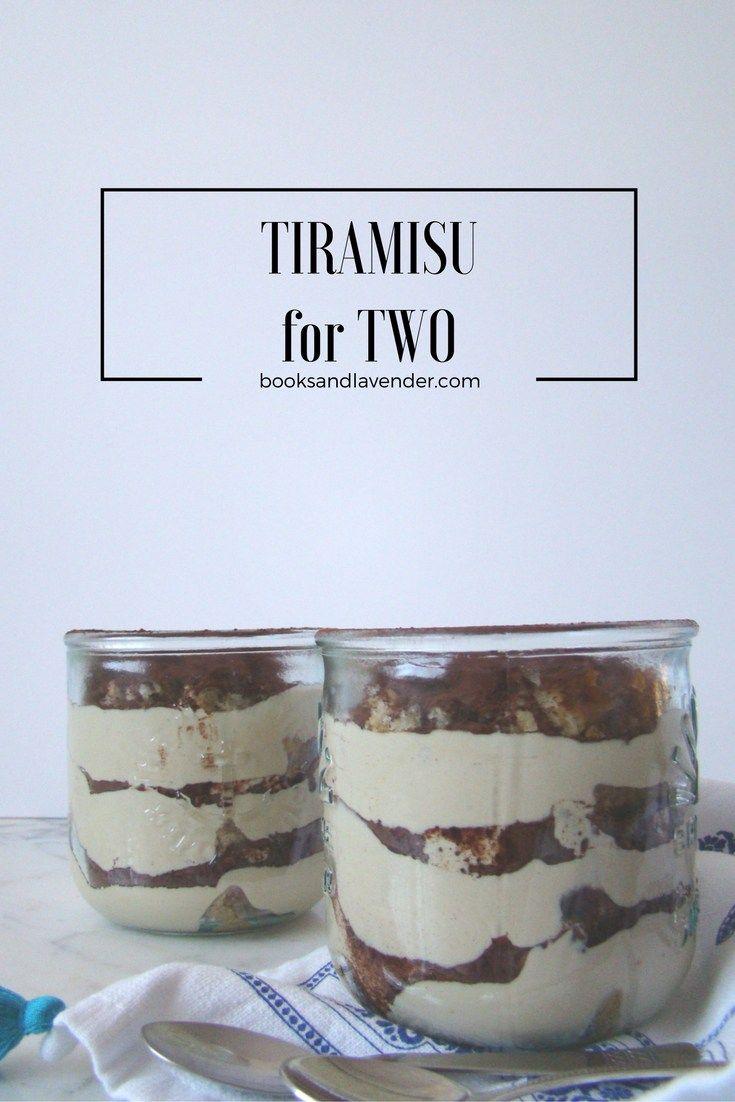 How to make easy tiramisu for two.