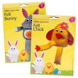 Ideal to keep the kids entertained this Easter - with full instructions. Each pack sold separately.