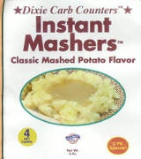 Dixie Carb Counters Instant Mashers