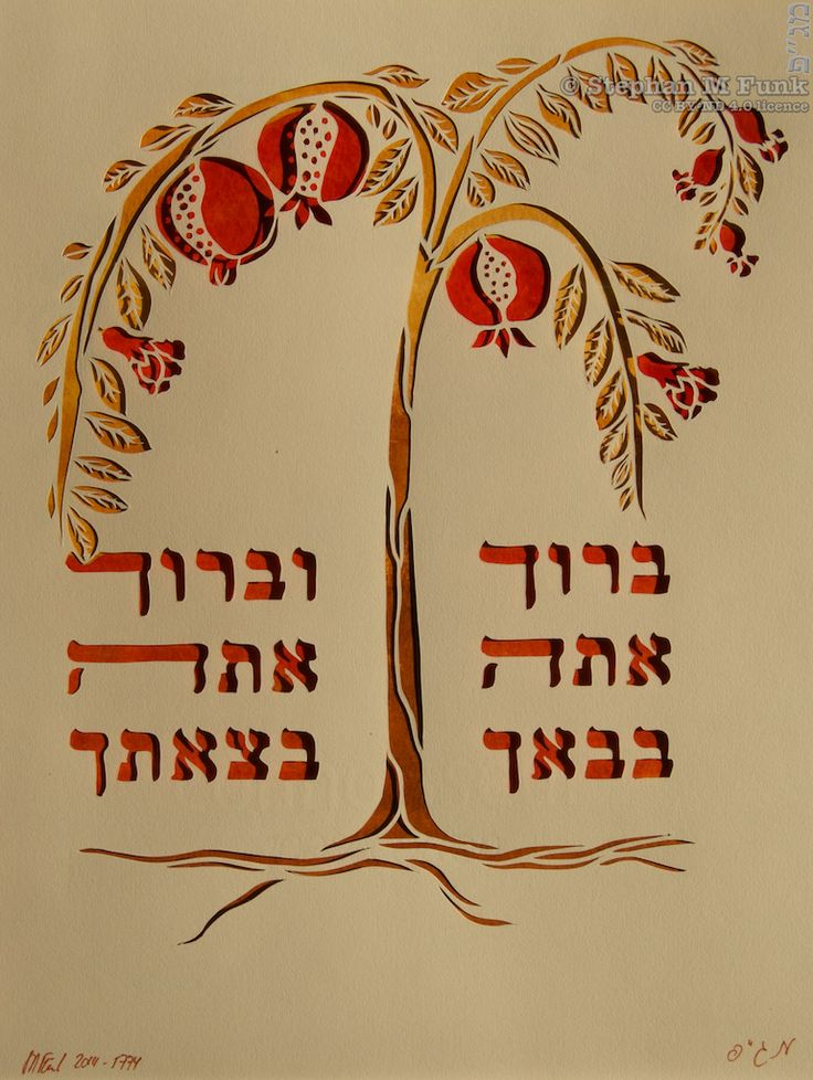 rosh hashanah hebrew text
