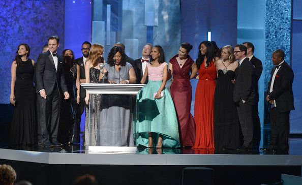 SCANDAL CAST NAACP IMAGE AWARDS 2013