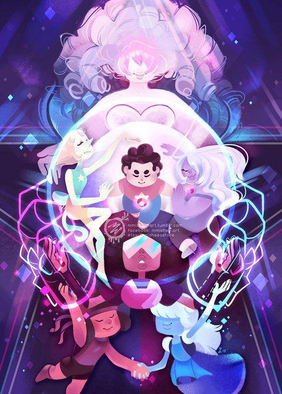 Steven Universe  large art print by mmisheesstore on Etsy