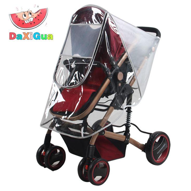 Universale Passeggini Passeggini Baby Carriage Impermeabile Polvere Copertura Della Pioggia Parabrezza Trasporto Libero