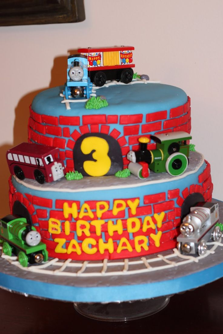1000 Ideas About Thomas Birthday Cakes On Pinterest