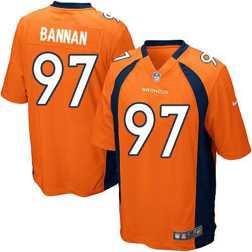 mens nike denver broncos 97 justin bannan limited orange team color nfl jersey sale youth nike new y