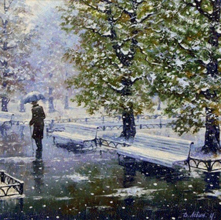 Первый снег., предпросмотр