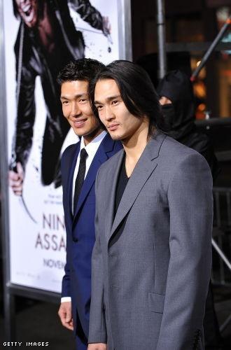 Rick Yune and Karl Yune, the Korean Hemsworth brothers