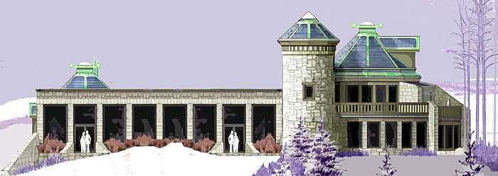 Castle Earthship Plans~ This is my new dream home! Completely self sustainable; electricity from solar/wind, an interior greenhouse runs the entire length of the south walls to grow your own food. Heavily insulated to regulate temperature. No More Utility bills! Completely off the grid~ it even catches rainwater and recycles it throughout the home. Doesn't need a well!