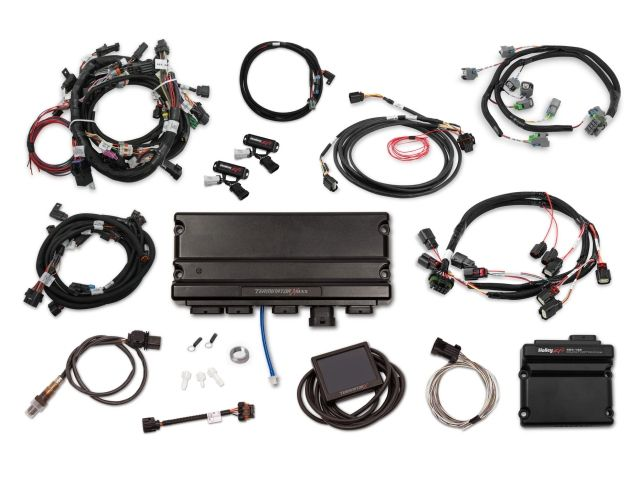 Holley Efi Terminator X Max Mpfi Kit W Ev6 Injector Harness Dbw Throttle Body Control 2013 2015 Ford 5 0l Coyote Holley Efi Map Sensor Engine Control Unit