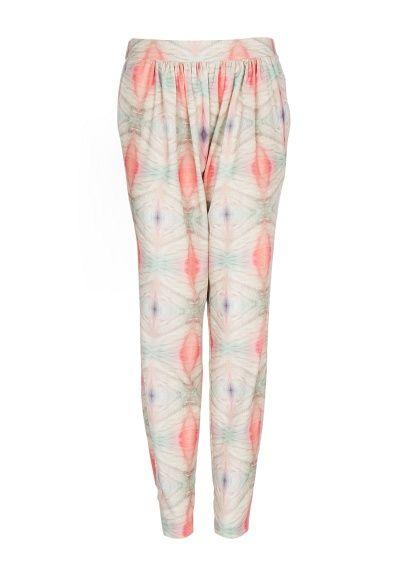 MANGO - Digital print baggy trousers