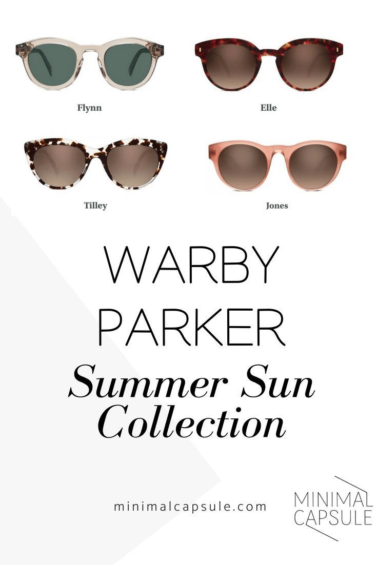 7ed2ac875169 Stylish eyewear brand Warby Parker Summer Sun Collection Designer Sunglasses  Stylish Eyewear Capsule Wardrobe | MinimalCapsule.com #capsulewardrobe ...