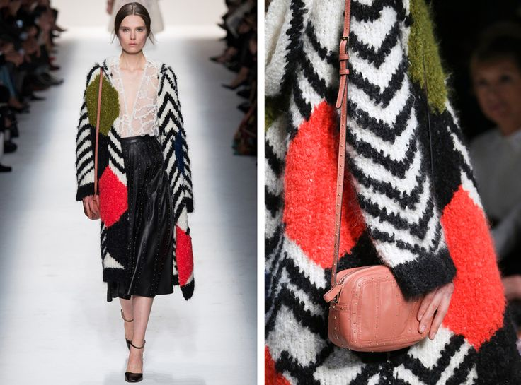 Valentino  Let's Ogle Fall Knitwear Trends! | http://sheepandstitch.com/fall-knitwear-trends-2014/